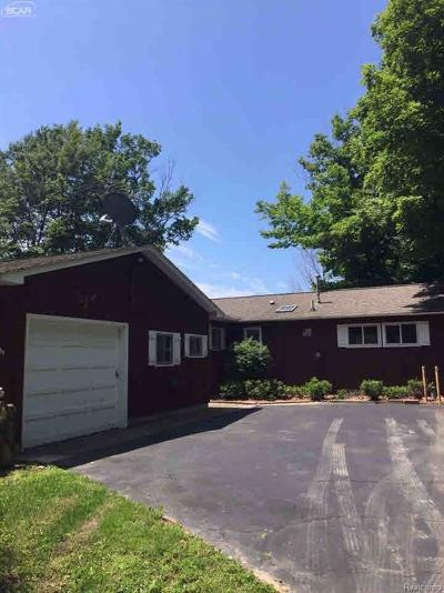 Manistee County Single Family Home For Sale: 13694 Lakeview