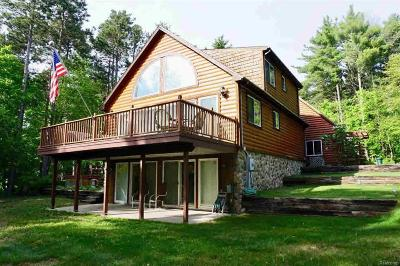 Manistee County Single Family Home For Sale: 18783 Butwell