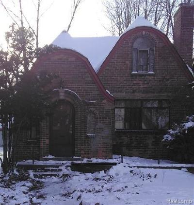 Detroit Single Family Home For Sale: 4885 Bishop