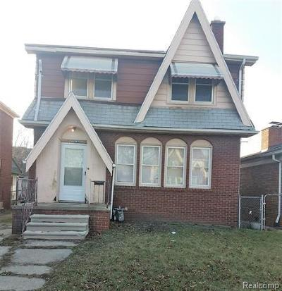 Detroit Single Family Home For Sale: 16157 Linwood