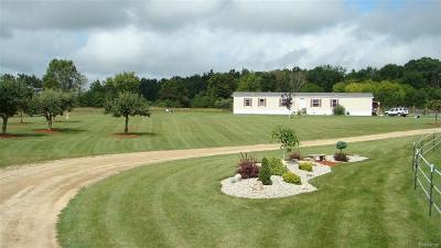 Juniata Twp MI Single Family Home For Sale: $138,000