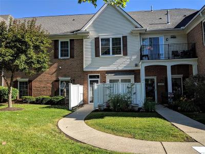 Waterford Twp Condo/Townhouse For Sale: 614 Belmonte