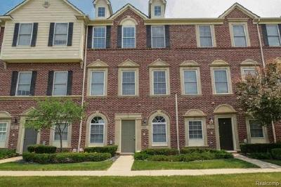 Canton Condo/Townhouse For Sale: 45587 N Stonewood