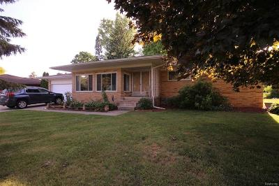 Shelby Twp Single Family Home For Sale: 53629 Sophia