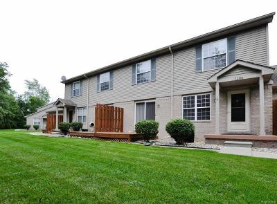 Holly Twp, Holly Vlg, Holly Condo/Townhouse For Sale: 1206 Bay