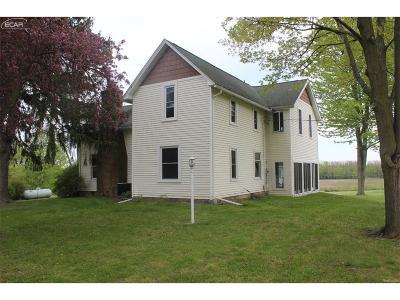 Shiawassee County Single Family Home For Sale: 1005 W Hibbard Road