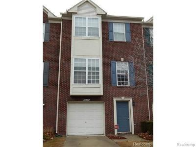 Sterling Heights Condo/Townhouse For Sale: 36315 Dominion