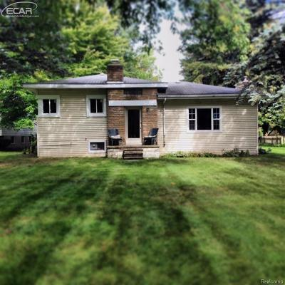 Oxford, Oxford Twp, Oxford Vlg Single Family Home For Sale: 3237 W Drahner Road