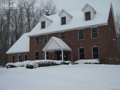 Brandon Twp Single Family Home For Sale: 1674 Burrus Road