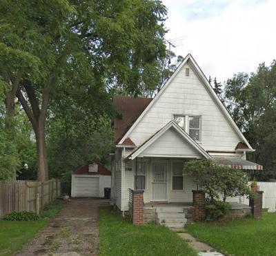 Detroit Single Family Home For Sale: 19177 Grandville
