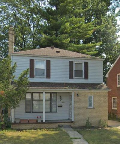 Detroit Single Family Home For Sale: 16510 Vaughan