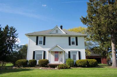 Single Family Home Contingent - Continue To Show: 10348 Beecher Rd