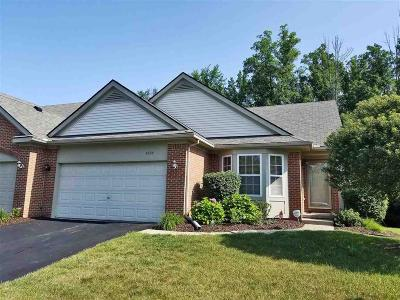 Holly Twp Condo/Townhouse For Sale: 6009 Augusta Court