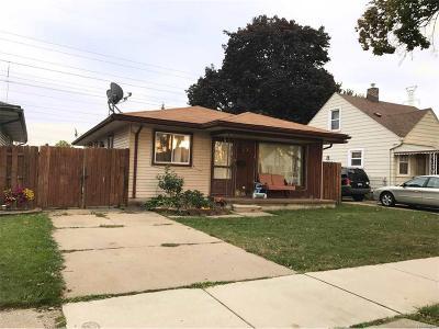 Trenton Single Family Home For Sale: 3779 Trumbull
