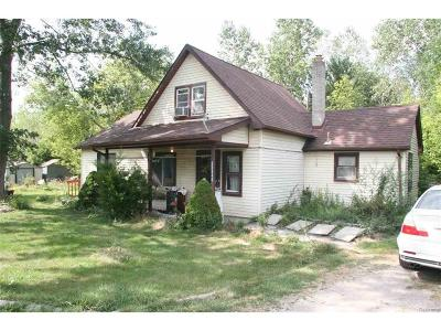 Brownstown Twp Single Family Home For Sale: 25346 Telegraph
