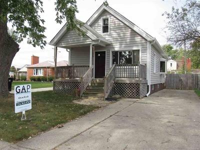 Wyandotte Single Family Home For Sale: 1296 Spruce