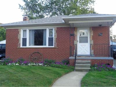 Wyandotte Single Family Home For Sale: 523 Highland