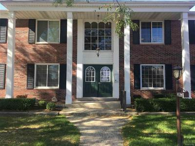 Bloomfield Twp Condo/Townhouse For Sale: 2472 E Mulberry Square #22