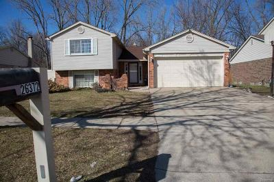 Taylor Single Family Home For Sale: 26372 Susan