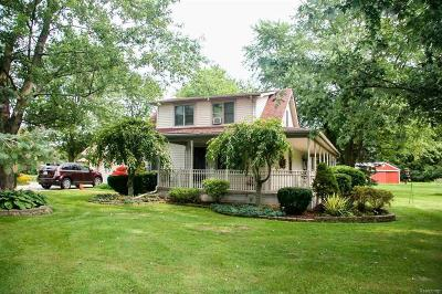 Brownstown Twp Single Family Home For Sale: 30303 Fort
