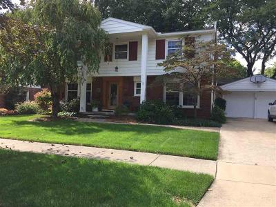Trenton Single Family Home For Sale: 1640 Waverly