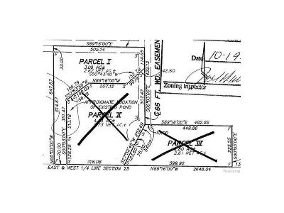 Pittsfield, Pittsfield Twp Residential Lots & Land For Sale: 4610 Crane Court