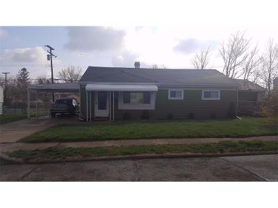 Ypsilanti Single Family Home For Sale: 441 Burton Court