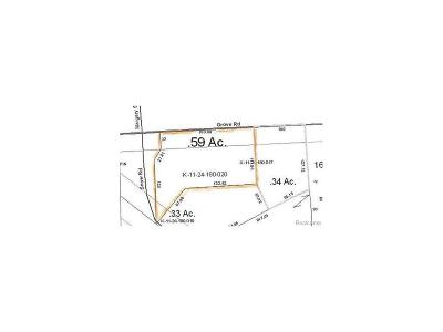 Ypsilanti Twp Residential Lots & Land For Sale: Grove Road