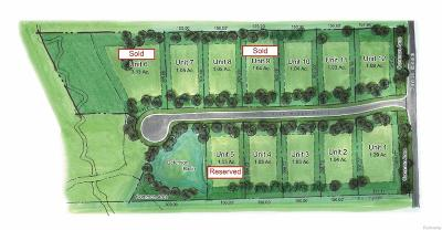 Ann Arbor, Scio, Ann Arbor-scio, Scio, Scio Township, Scio Twp Residential Lots & Land For Sale: 1010 Pine Ridge Court