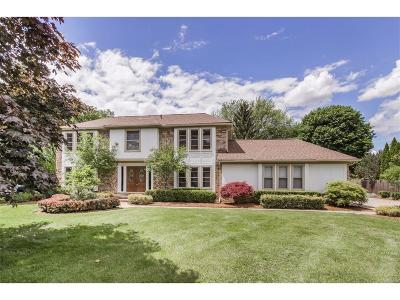 Farmington, Farmington Hills Single Family Home For Sale: 36026 Hardenburg Road