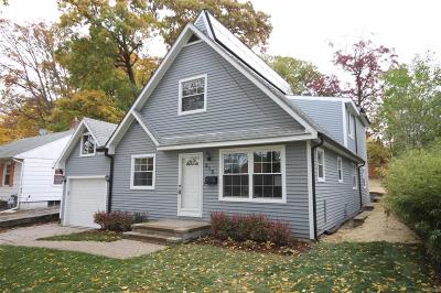 Ann Arbor Single Family Home For Sale: 915 S Seventh Street