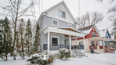 Ann Arbor Single Family Home For Sale: 938 Dewey Avenue