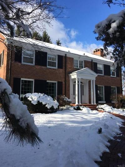 Ann Arbor Single Family Home Contingent - Continue To Show: 2101 Belmont