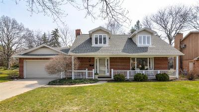 Ann Arbor Single Family Home Contingent - Continue To Show: 2091 Ascot Road