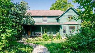 Ann Arbor Single Family Home For Sale: 2505 Whitmore Lake Road
