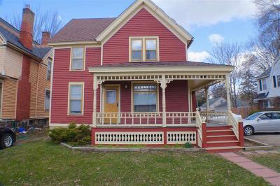 Ypsilanti Single Family Home Contingent - Continue To Show: 312 Washtenaw Road