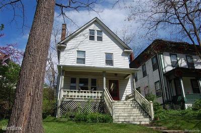 Ann Arbor Single Family Home For Sale: 510 N State Street