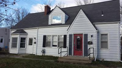 Ann Arbor Single Family Home For Sale: 1706 Pauline Boulevard