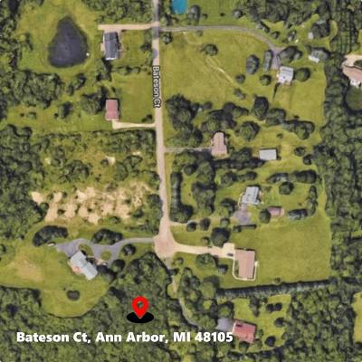 Ann Arbor Residential Lots & Land For Sale: Bateson Court