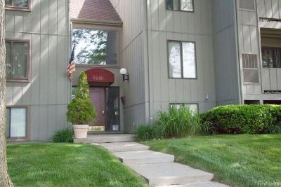 Ypsilanti Condo/Townhouse For Sale: 9601 Bayview Drive #102