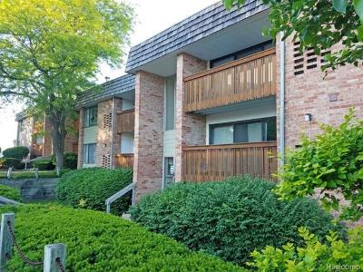 Ann Arbor Condo/Townhouse For Sale: 2140 Pauline Boulevard #105