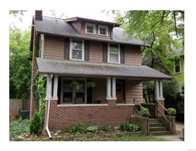 Ann Arbor Single Family Home For Sale: 1124 Granger Avenue