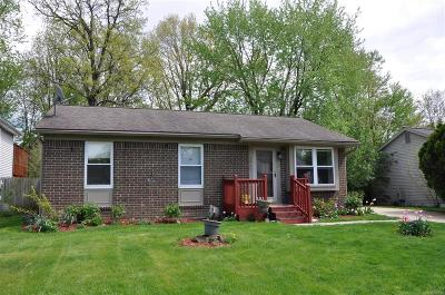 Ypsilanti Single Family Home Contingent - Continue To Show: 5869 Willowbridge