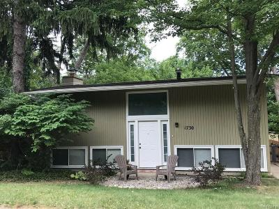 Ann Arbor Multi Family Home For Sale: 1730 Traver Road