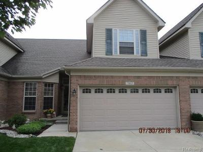 Belleville-vanbure, Van Buren, Van Buren Twp Condo/Townhouse For Sale: 7812 Chloe Court #145