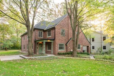 Ann Arbor Single Family Home For Sale: 1832 Vinewood Boulevard