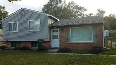 Romulus Single Family Home For Sale: 15776 Isabelle Street