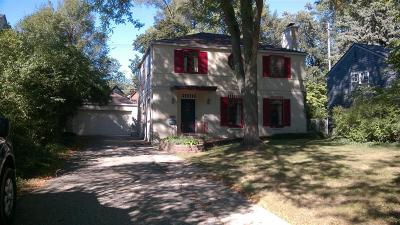 Ann Arbor Single Family Home For Sale: 1615 E Stadium Boulevard