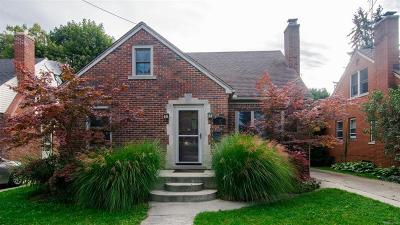 Ann Arbor Single Family Home Contingent - Continue To Show: 1107 Edgewood Avenue