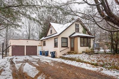 Ann Arbor, Ann Arbor (c), Ann Arbor Twp, Ann Arbpr Single Family Home Contingent - Continue To Show: 1755 N Maple Road